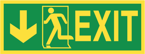 IMO escape signs