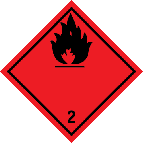 Flammable Gas ADR 2.1