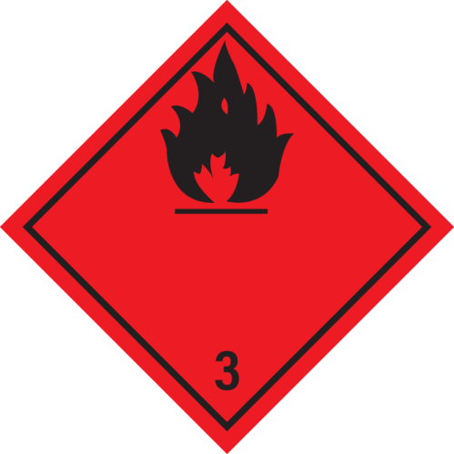 Flammable Liquid ADR 3