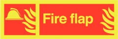 Fire Flap (sticker)