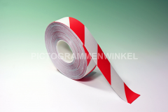 PermaRoute® PVC 0,7mm, rood/wit 100mm