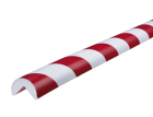 Stootband Type A rood/wit 1mtr