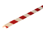 Stootband Type E rood/wit 1mtr