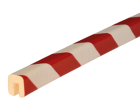 Stootband Type G rood/wit 1mtr